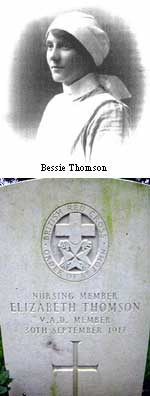 Nurse Bessie Thomson, Creetown