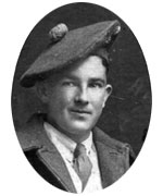 Private William Crossan, Kirkcudbright